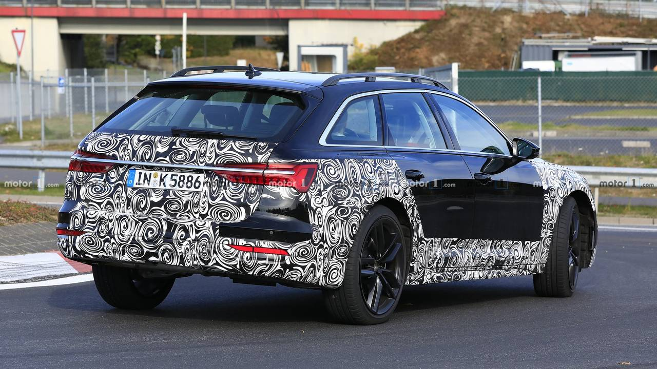 2020 Audi A6 Allroad new spy photo