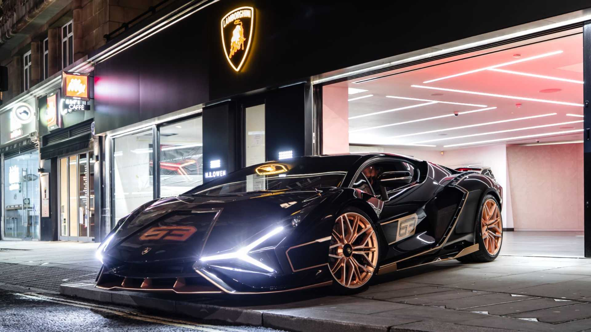 Lamborghini Sian in London