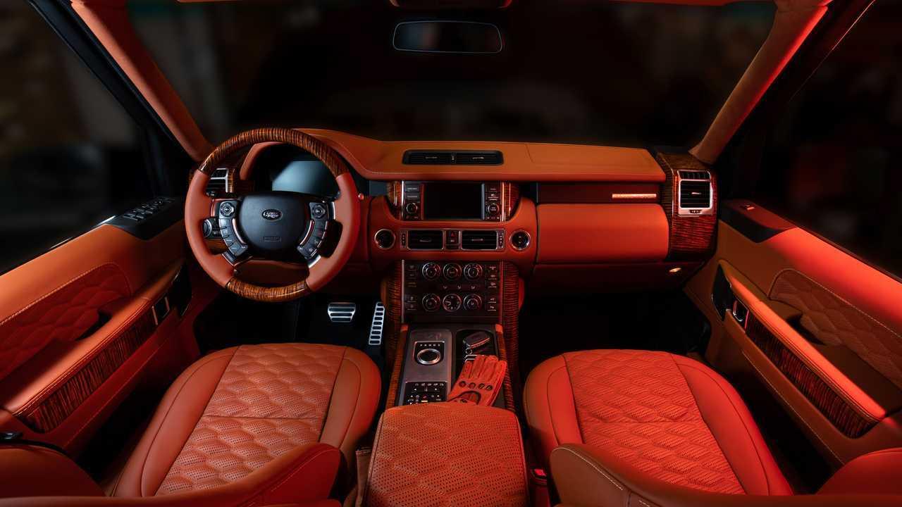 Land Rover Ranger Rover Autobiography By Vilner Interior
