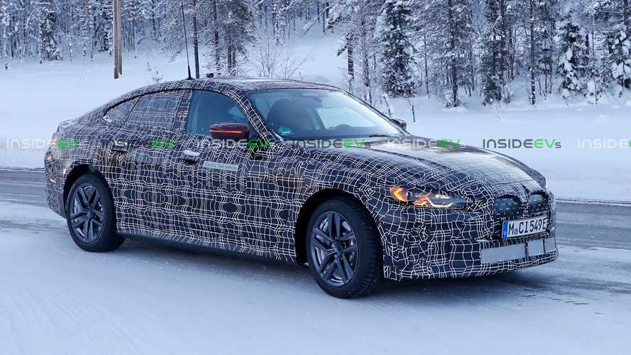 2022 BMW i4 Spied Again