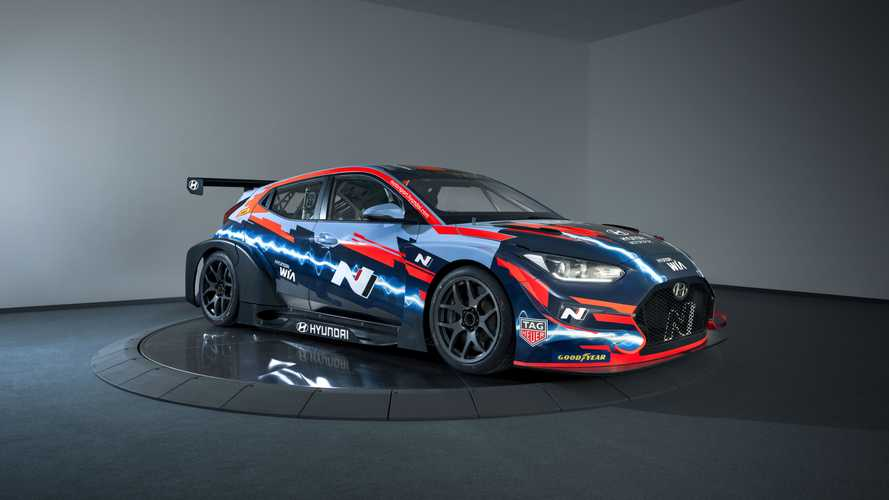 Electric Hyundai Veloster N ETCR To Race In Pure ETCR Championship