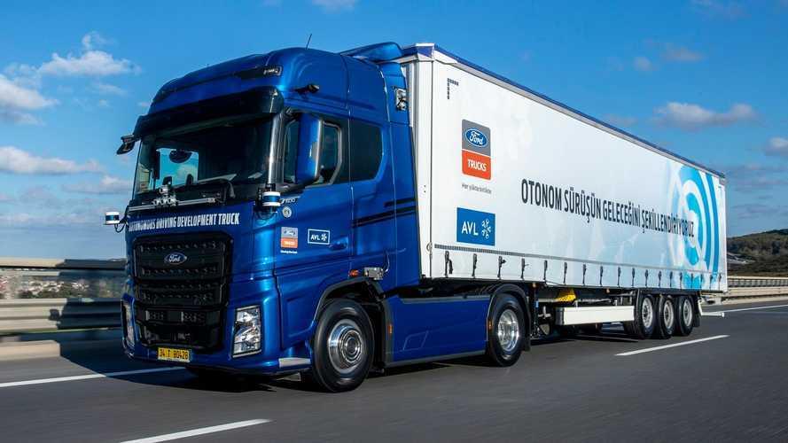 Ford Otosan ve AVL'den tam otonom taşımacılık için büyük adım