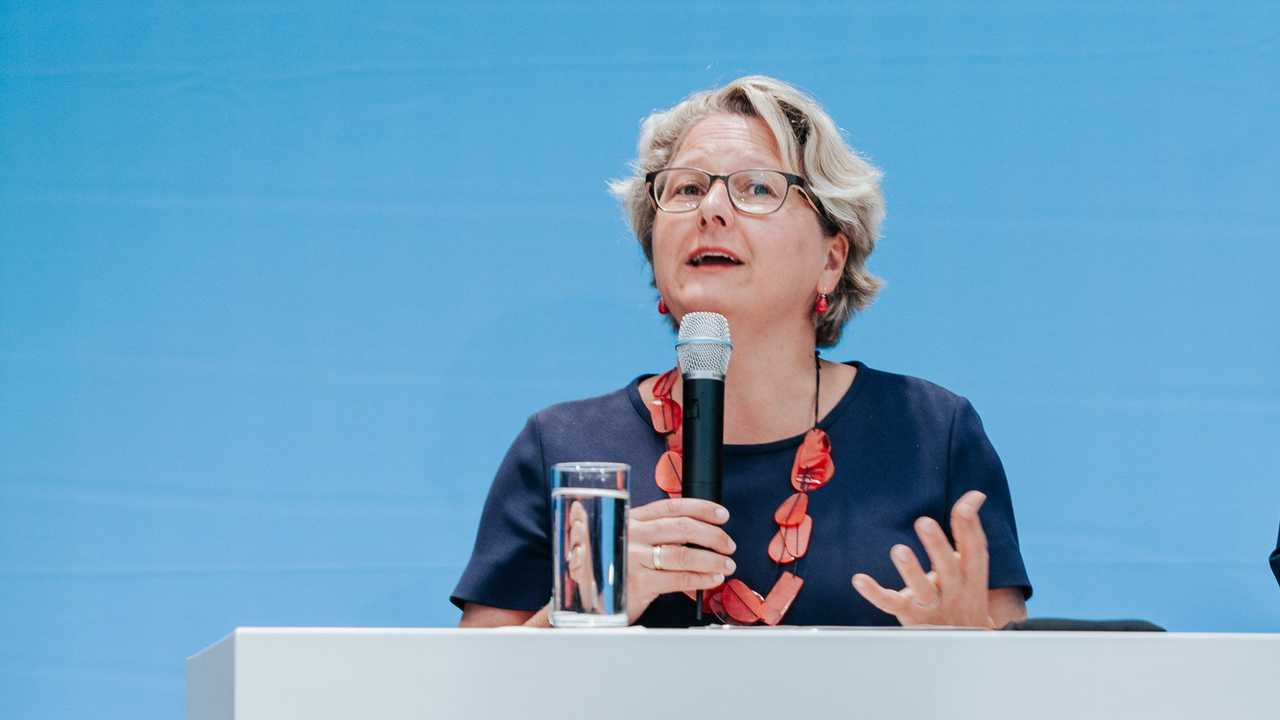 Bundesumweltministerin Svenja Schulze (Bildquelle: BMU)