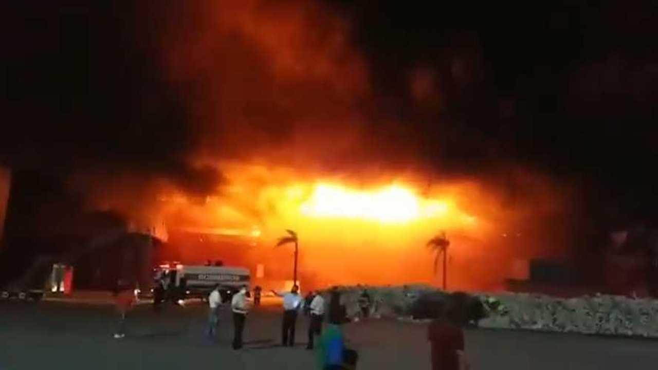 Autodromo Termas de Rio Hondo Argentina Track Fire