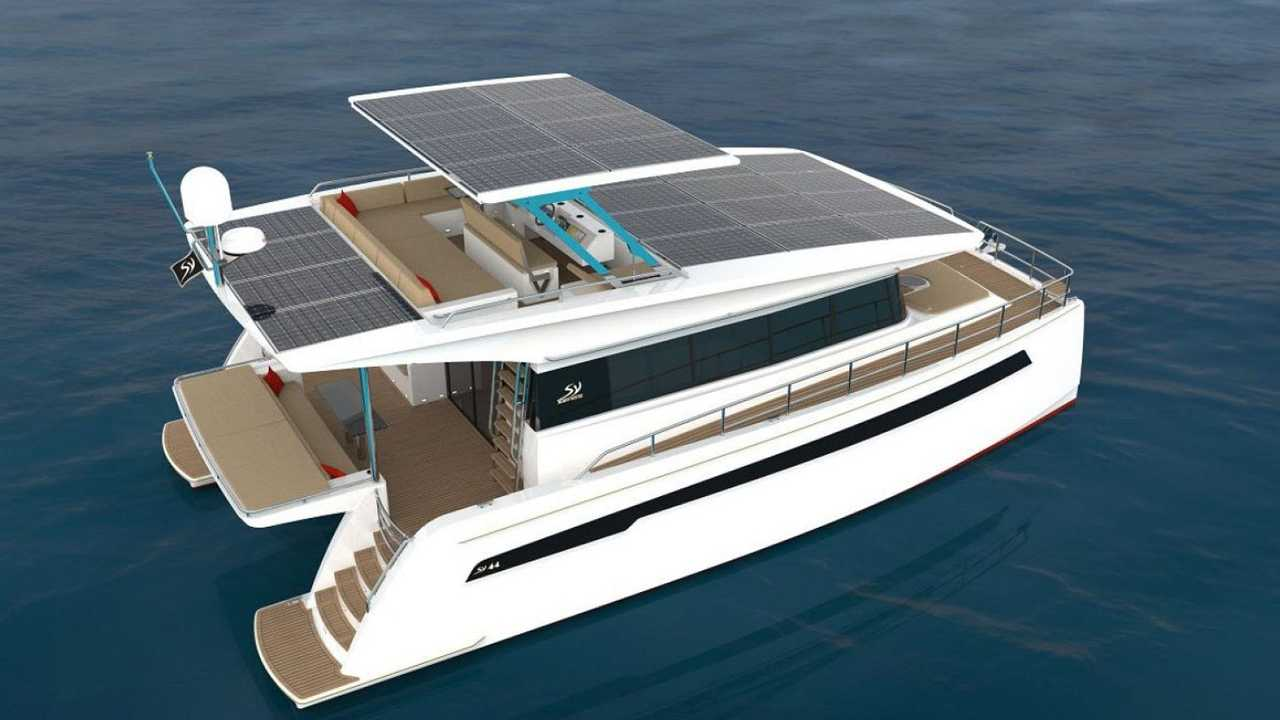 Silent Yachts, barcos elétricos com painéis solares