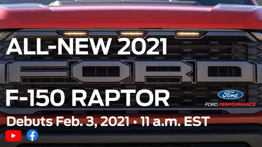 2021 Ford F-150 Raptor Teaser Reveals Muscle Truck's Face, Debut Date