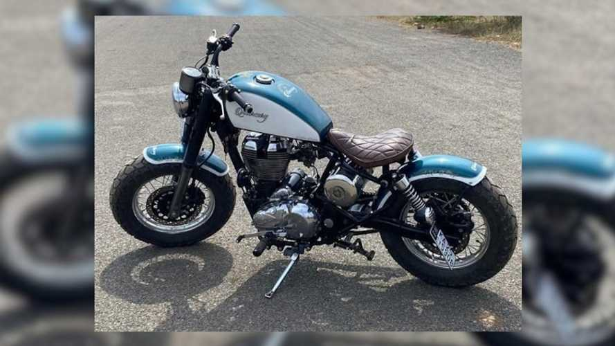 Check Out This Freddie Mercury Inspired Royal Enfield 350 Bobber