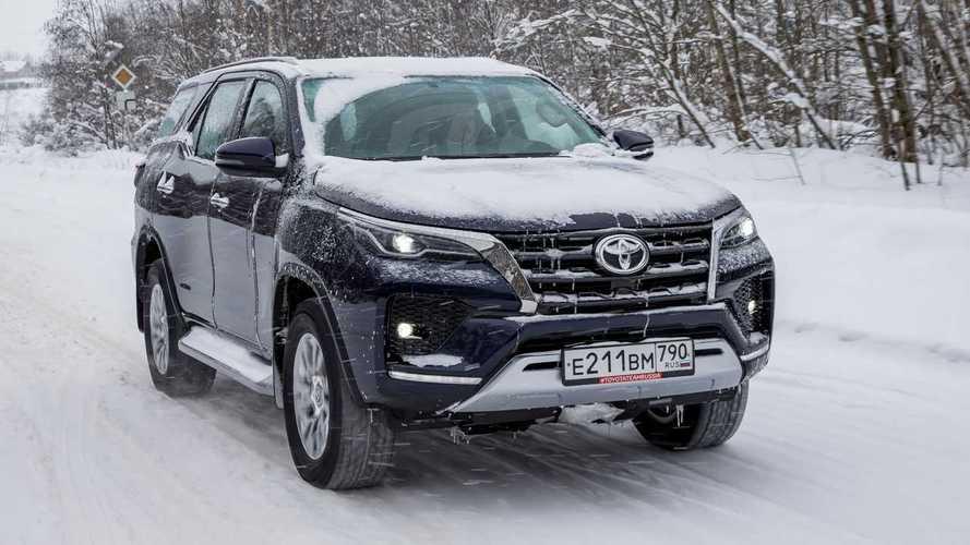 Toyota Fortuner (2020) для России