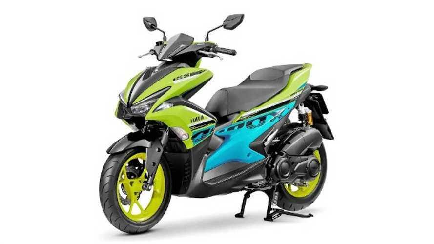 Yamaha Aerox 2021: con nuevos colores muy llamativos