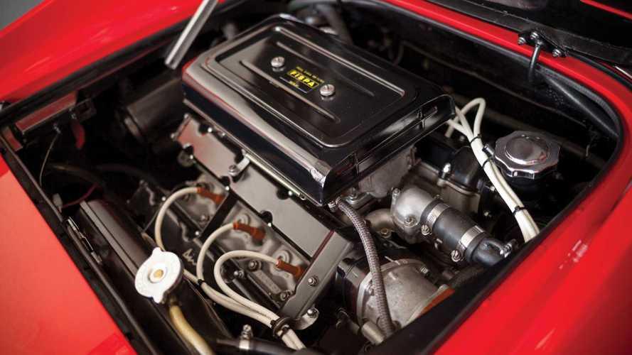 Moteurs Ferrari - Du 4 cylindres au V8