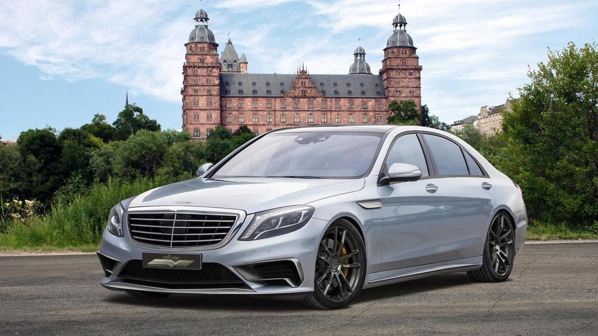mercedes benz s65 amg dialed to 720 hp by voltage design