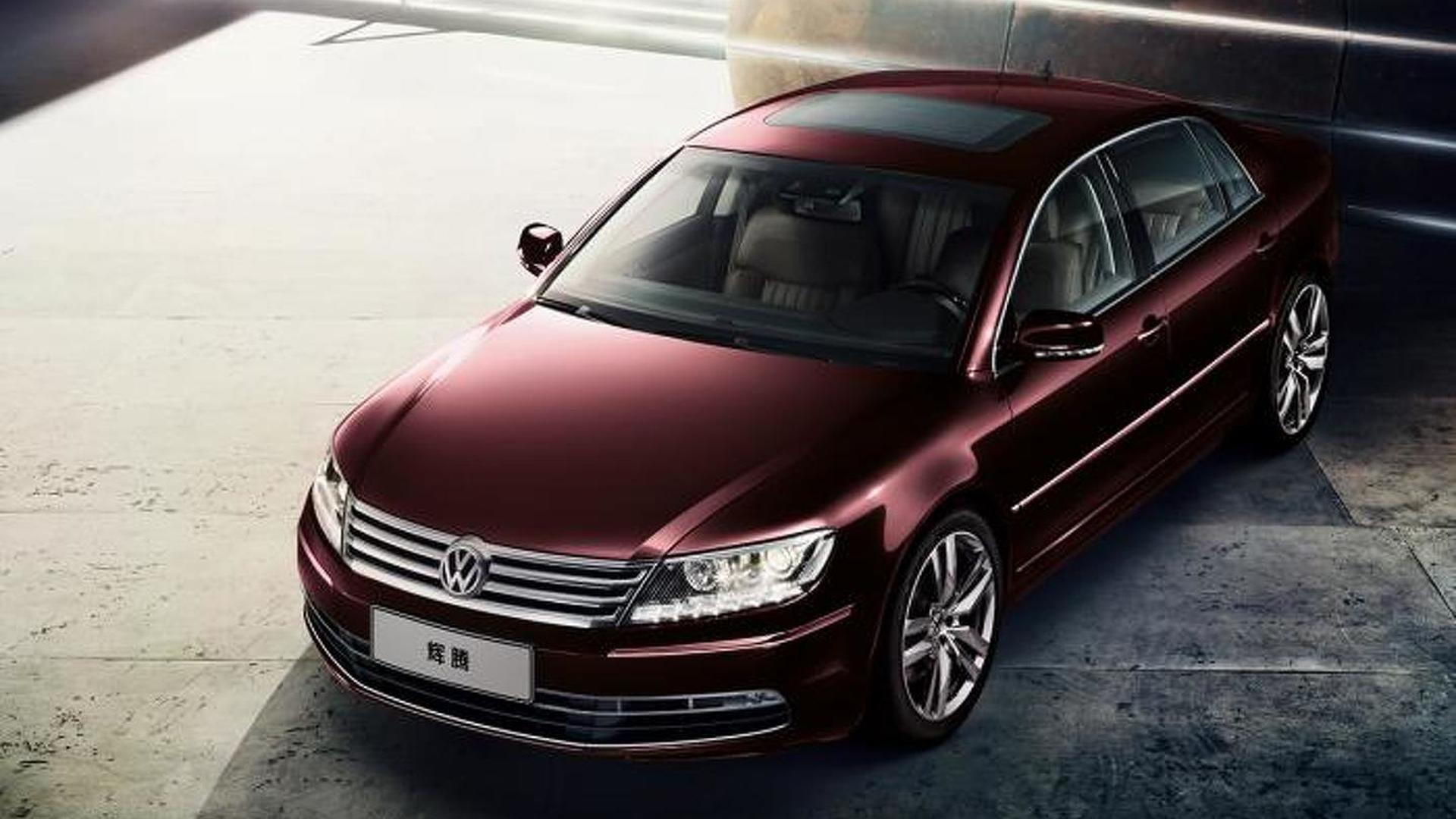 Vw Phaeton Successor To Be Previewed By Electric Concept