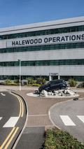 Land Rover Halewood factory