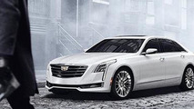 2016 Cadillac CT6 leaked photo