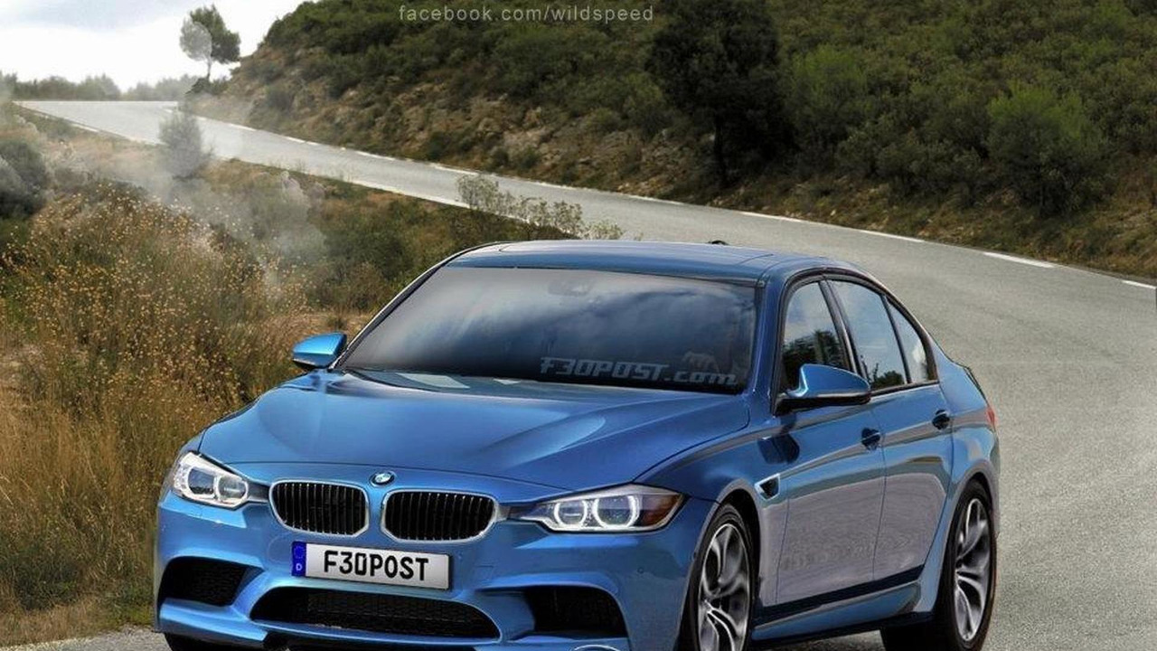 2014 BMW M3 rendered by WildSpeed 05.10.2011