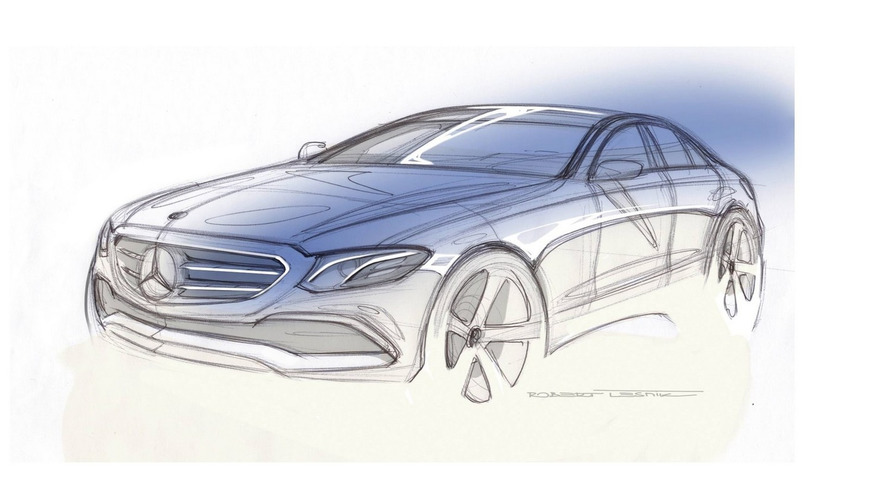 Mercedes kicks off 2016 with new E Class teaser
