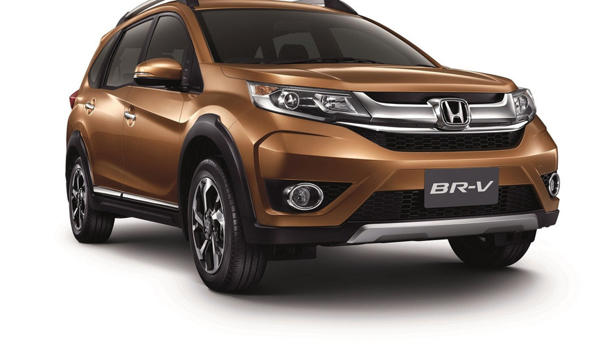 Honda BR-V seven-seat crossover goes on sale with 117-hp engine