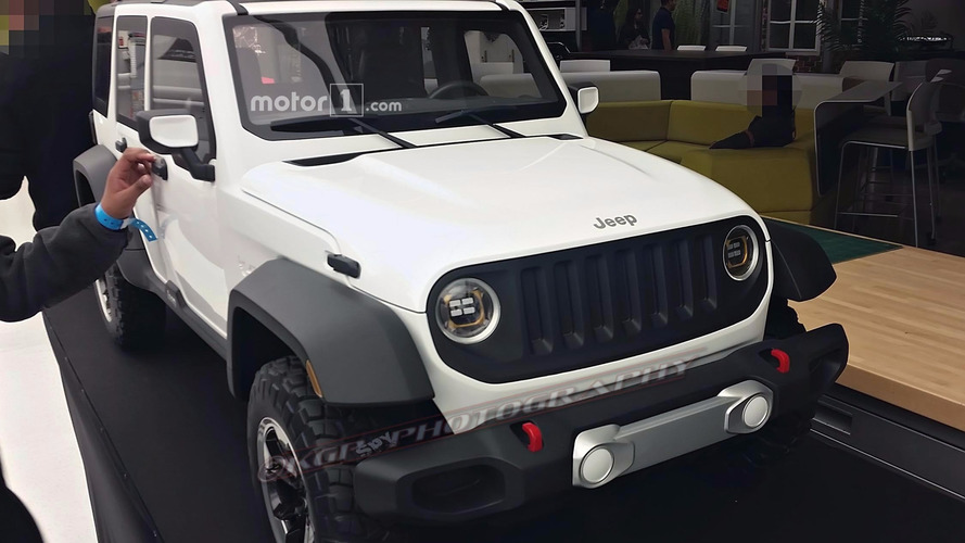 2018 Jeep Wrangler rejected design