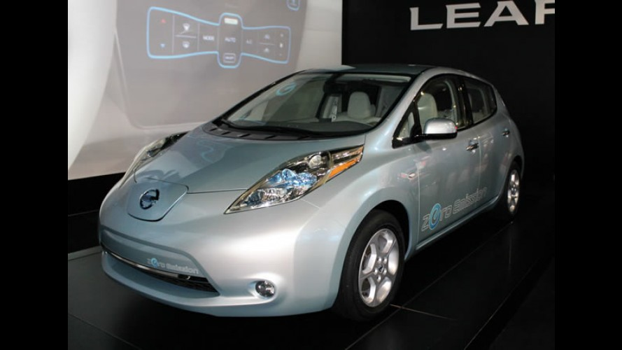 "Nissan Leaf é eleito o ""Carro Europeu do Ano 2011"""