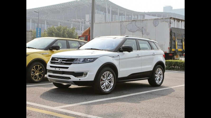 Land Rover vai questionar autoridades sobre plágio no caso do Landwind X7