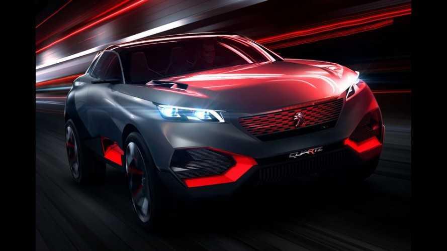 Peugeot Quartz Concept de 500 cv é o SUV do futuro, diz a marca
