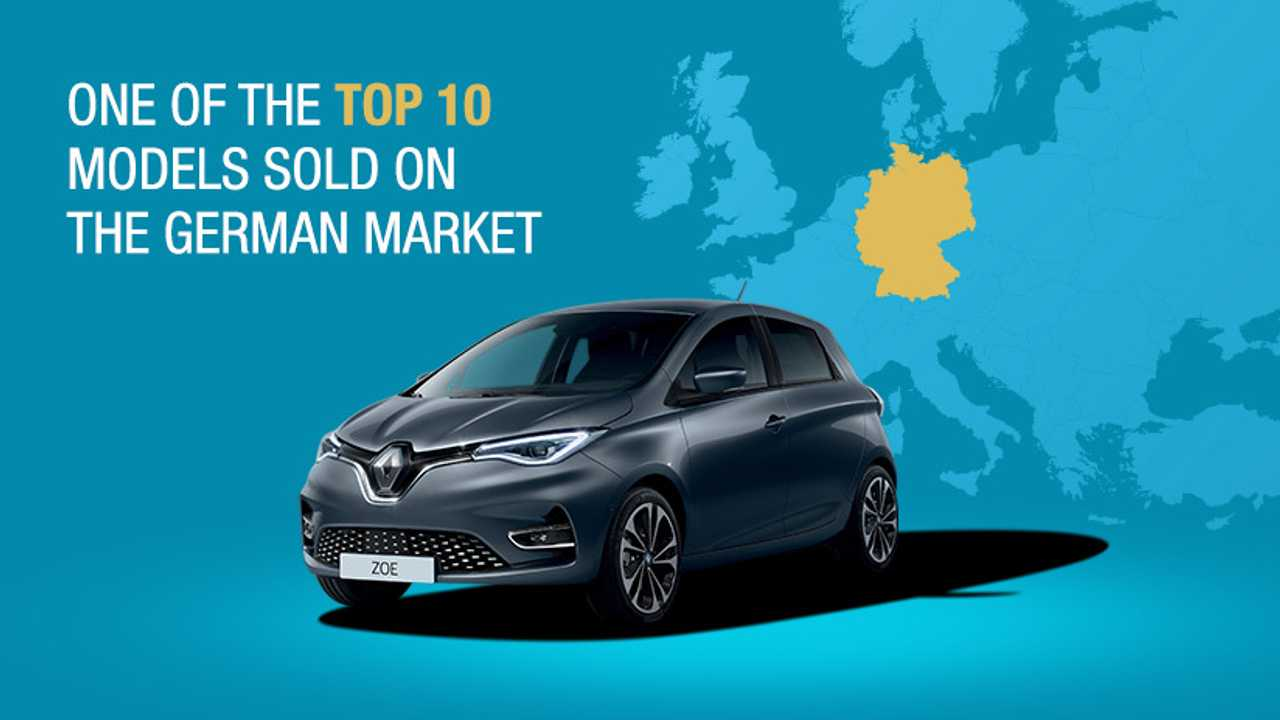 Renault ZOE sales in Germany