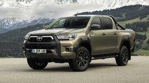 Toyota Hilux Invincible, Il test drive