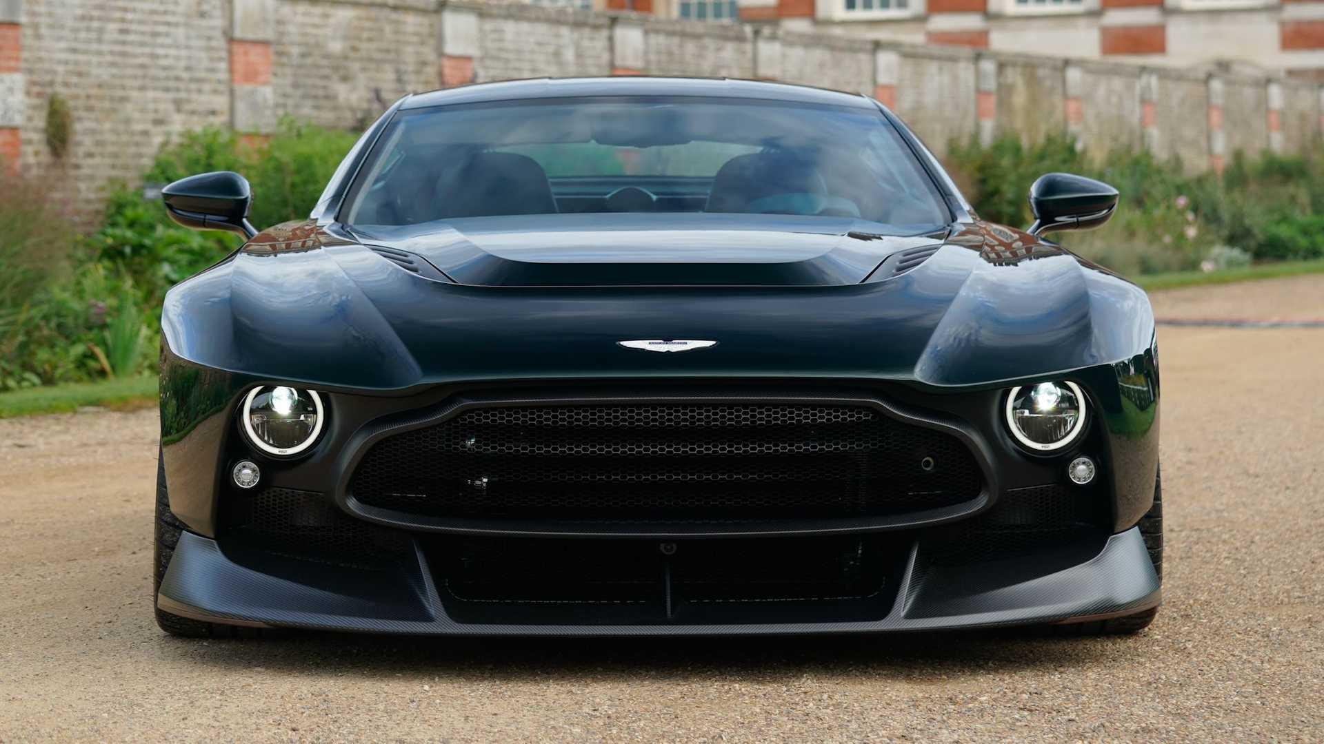 Aston Martin Victor 2020 Einzelstück Mit V12 Und über 800 Ps
