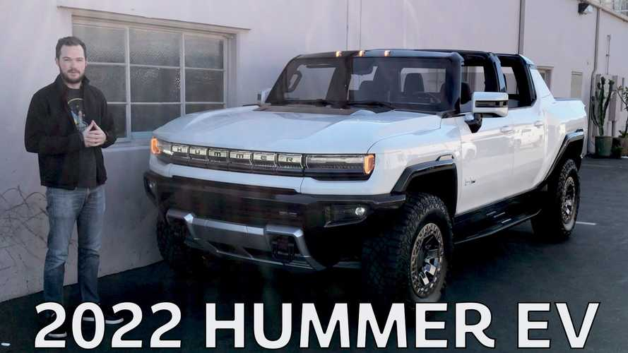See The Best Hummer EV Easter Eggs And Details On Video