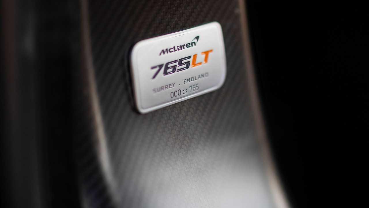 2021 McLaren 765LT build number
