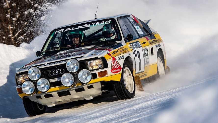 Audi, i momenti epici della trazione quattro