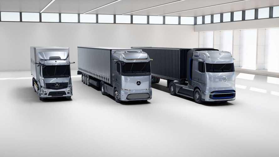 Mercedes представил семейство новых электрических грузовиков