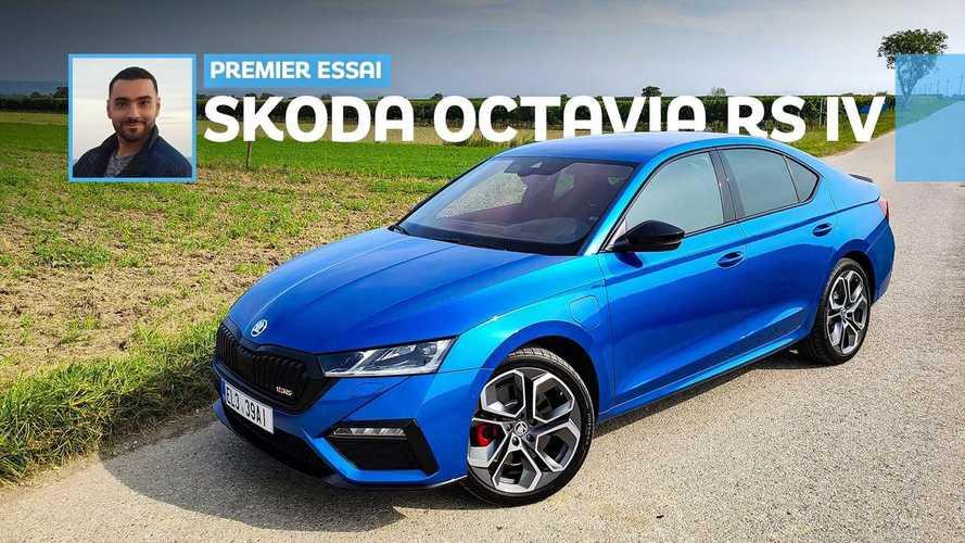 Essai Škoda Octavia RS iV (2020) - Une routière aux accents sportifs