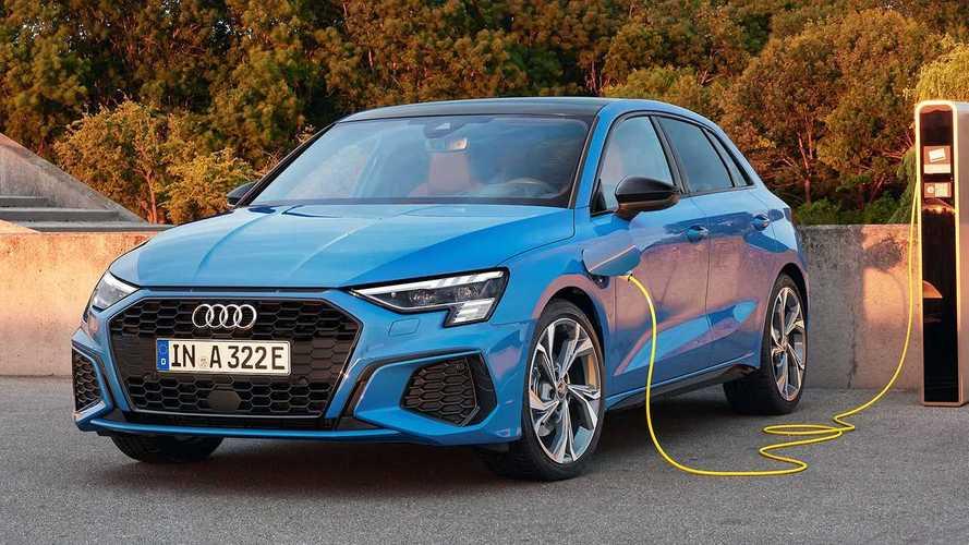 Nuova Audi A3 Sportback ibrida plug-in, prezzi da 39.200 euro