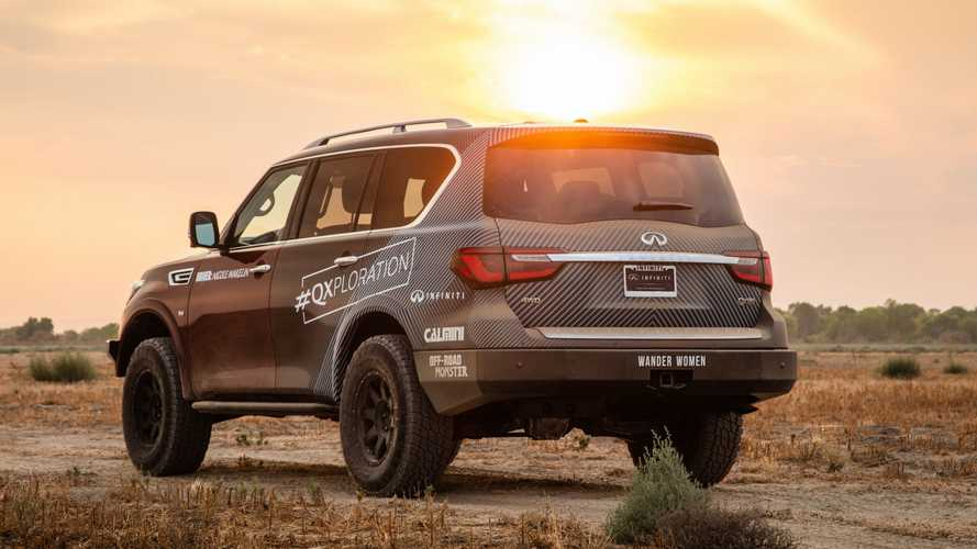 2021 Infiniti QX80 For Rebelle Rally
