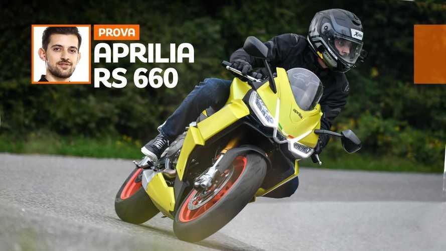 Aprilia RS 660 - TEST