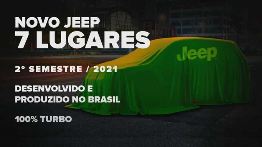 Novo Jeep de 7 lugares será o SUV mais tecnológico produzido na América Latina