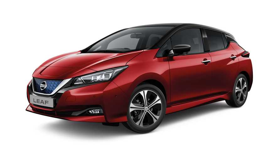 Nissan UK enhances LEAF specs and lowers prices