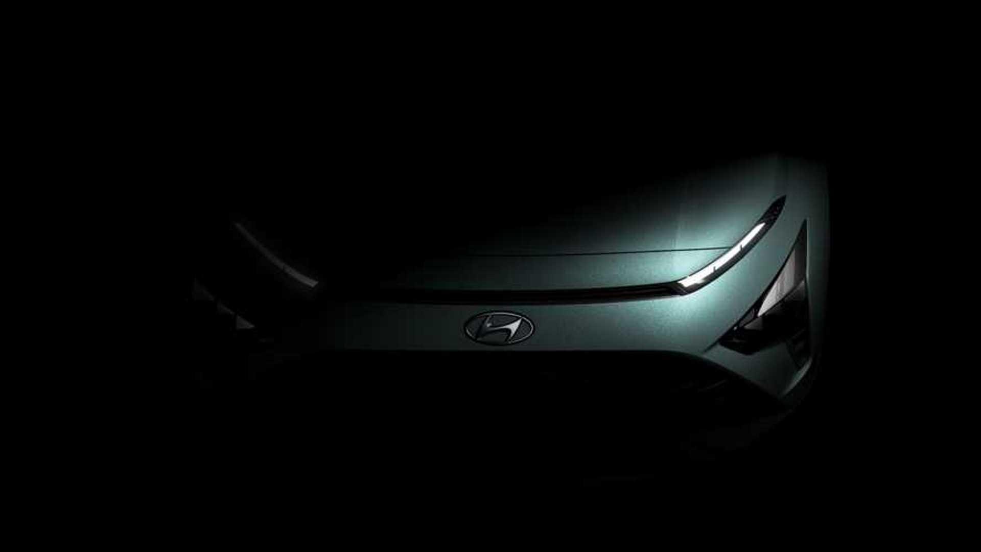 Hyundai Bayon 2021 года раскрывает более интересные детали дизайна в новых тизерах