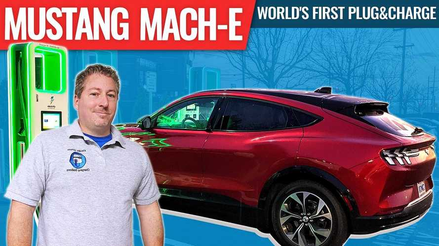 Watch Ford Mustang Mach-E Demonstrate Its Plug&Charge Technology