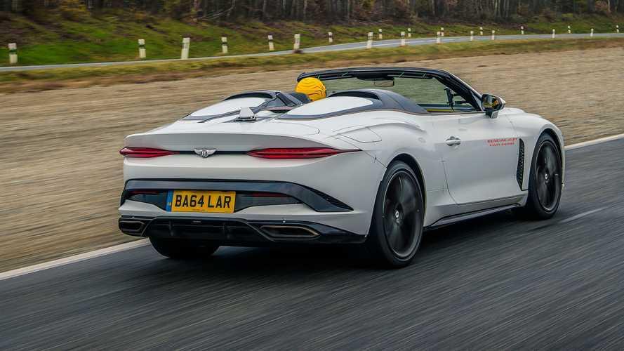 Bentley Bacalar, proseguono i test della Car Zero prima delle consegne