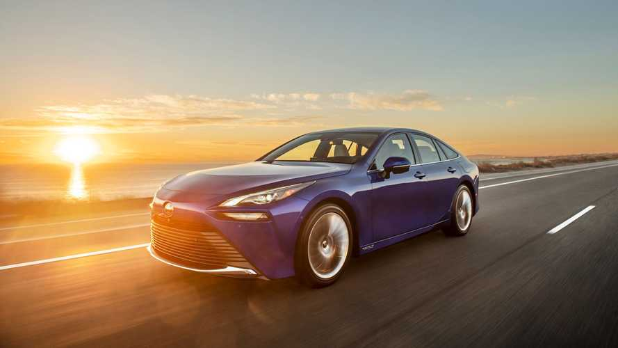 Latest-generation Toyota Mirai hydrogen car costs less than £50,000
