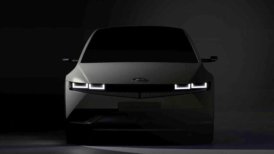 Hyundai divulga imagens do Ioniq 5, seu 1º elétrico 'puro' que estreia em fevereiro