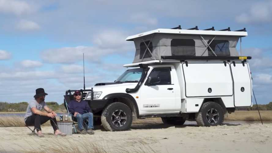 Modified Nissan Patrol / Armada Is A Tough Camper That Can Go Anywhere