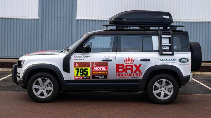 New Defender joins Dakar rally as rugged support vehicle