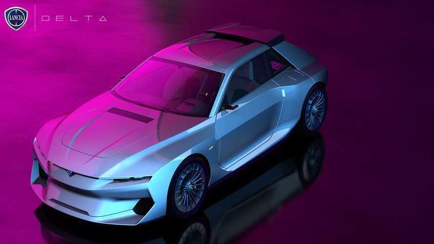Lancia Delta Rendering 2020