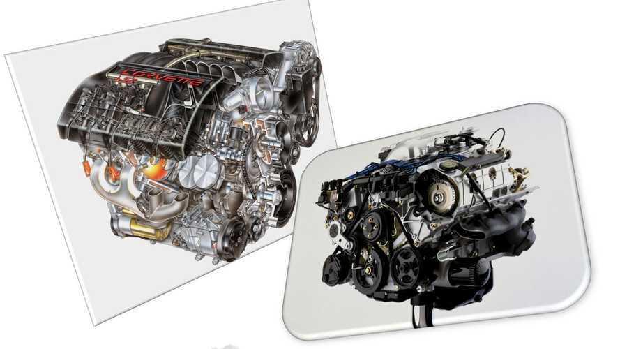 Motori V8 americani, l'eterna sfida tra Ford e GM