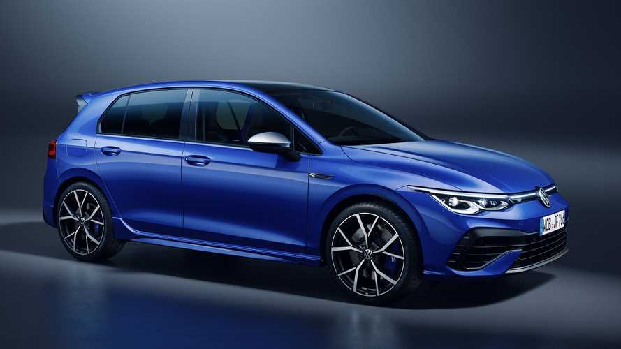 VW Golf R with more power shows up in the owner's manual