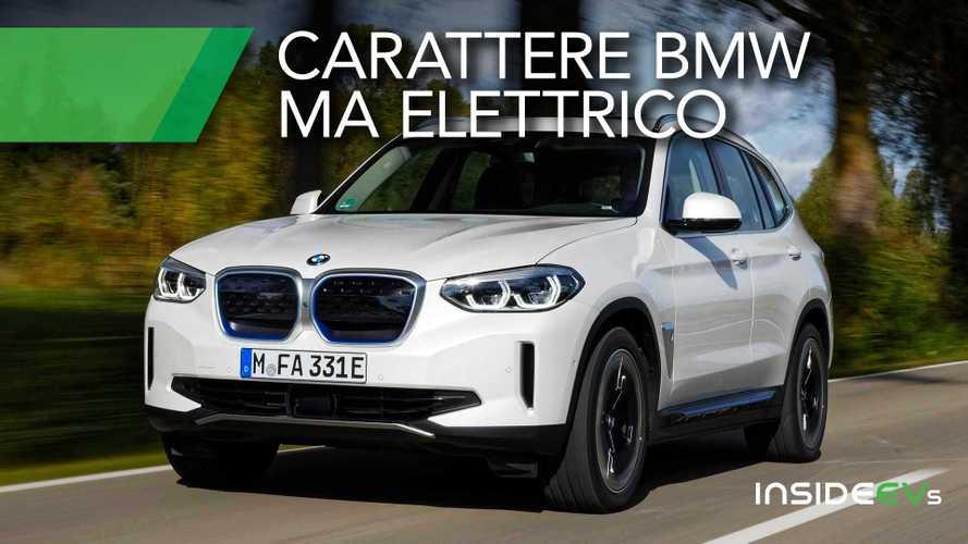 BMW iX3, la prova del SUV elettrico con 286 CV e 80 kWh di batteria
