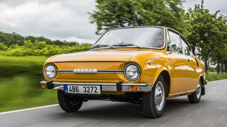 Skoda-Historie: Vor 50 Jahren wurde das Sportcoupé 110 R präsentiert